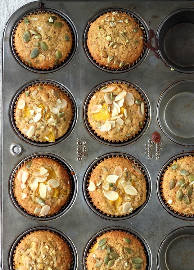 Orange Almond Muffins - Recipe