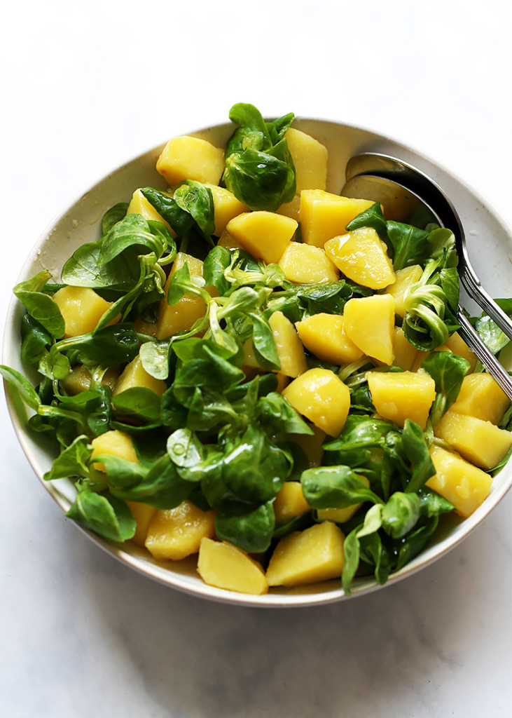 Potato field salad recipe