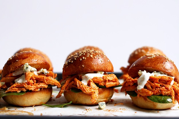 Pulled Chicken Slider Recipe