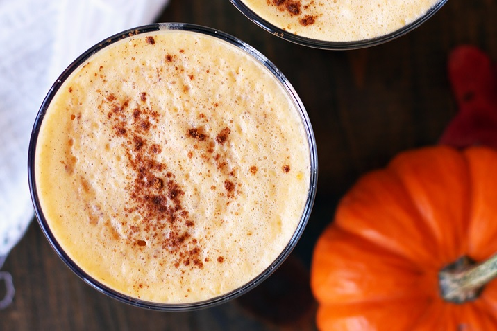Pumpkin Spice Latte Healthy - less sugar