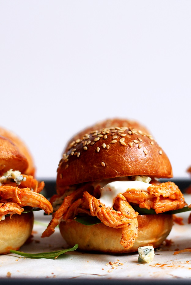 Quick Pulled Chicken Sliders Recipe