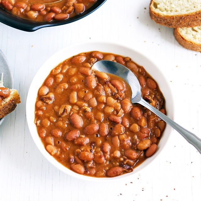 Quick Boston Baked Beans (ready in 10 minutes)