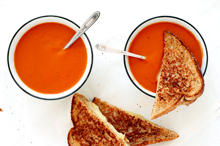 Quick creamy tomato soup recipe
