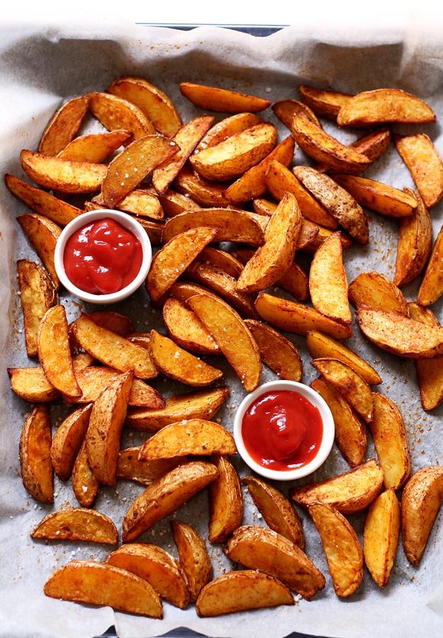 Perfect Crispy Baked Potato Wedges Little Vienna