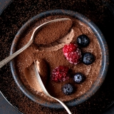 Quick recipe for Chocolate Mousse with two ingredients