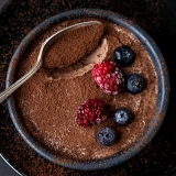 Recipe 2 ingredient Chocolate Mousse without egg