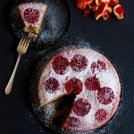 Blood Orange Almond Cake