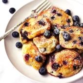 Blueberry Nocken (Heidelbeer Nocken)