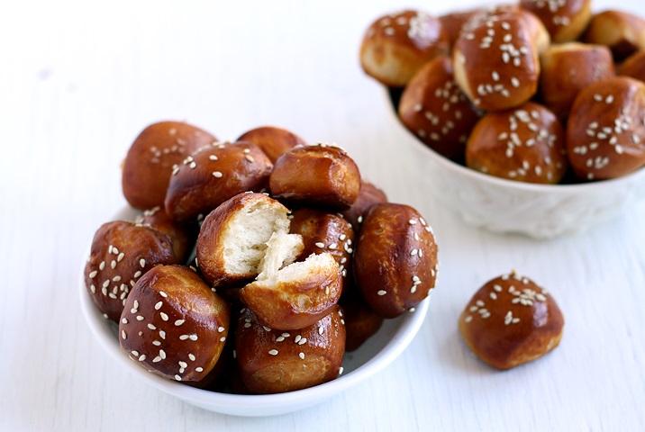 Recipe Fluffy Pretzel Bites