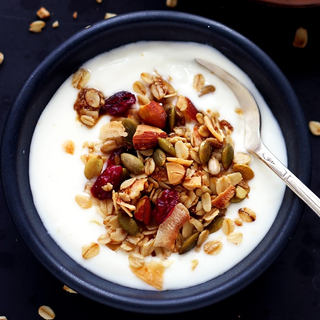 Sunflower and Pumpkin Seed Granola