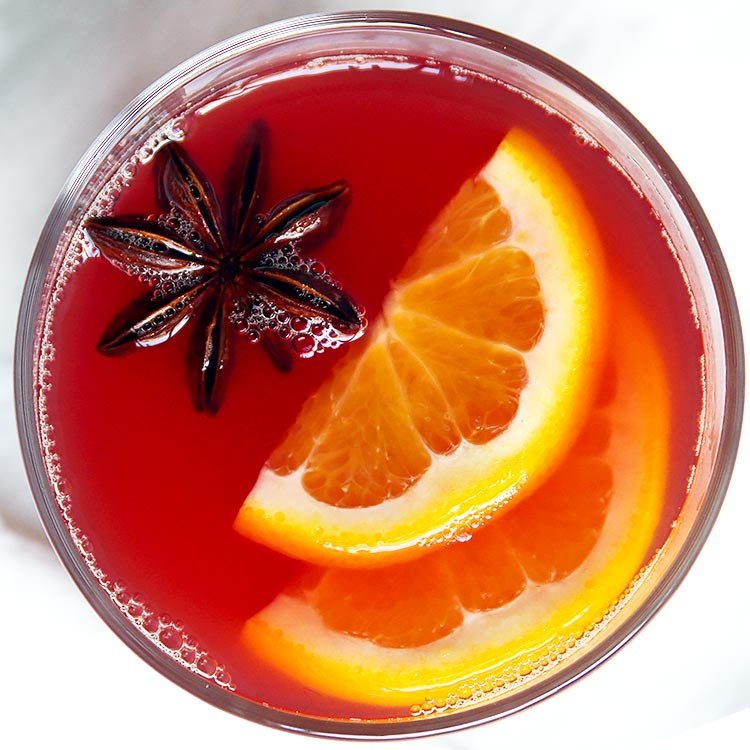 Viennese Hot Christmas Punch - with Video