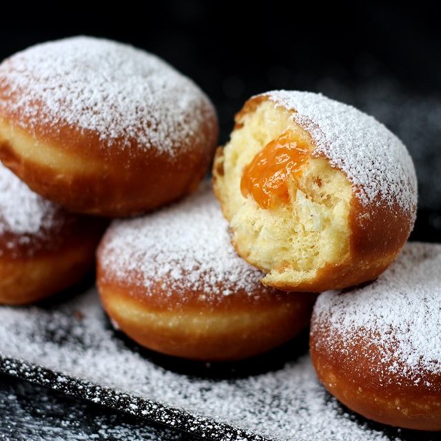 Recipe Krapfen Fluffy Donuts