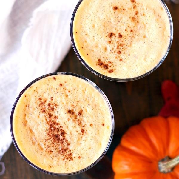 A Healthier Pumpkin Spice Latte