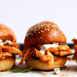Recipe Quick Pulled Chicken Sliders