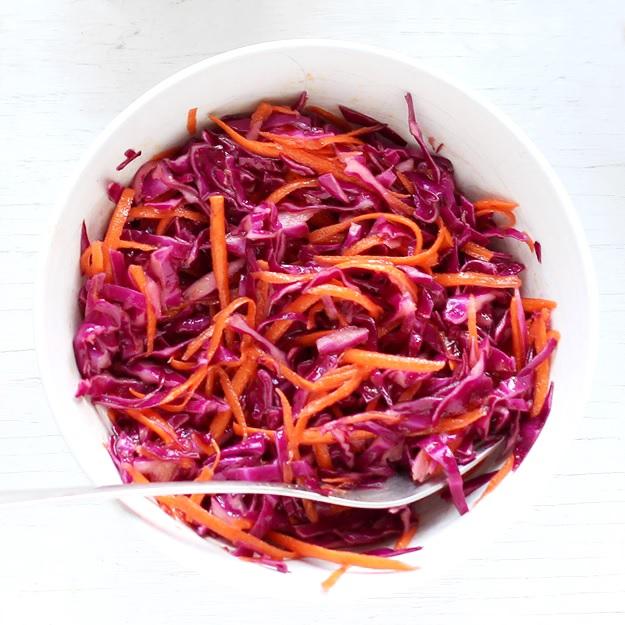 Red Cabbage Slaw Little Vienna