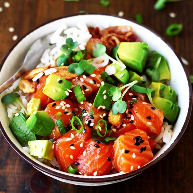 Salmon Poke Bowl Little Vienna