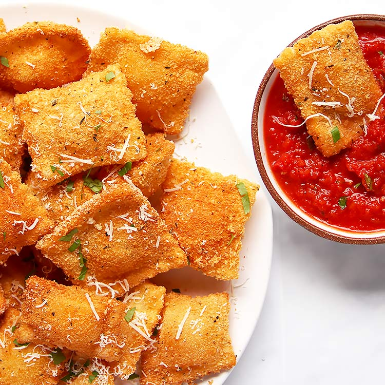 Toasted Ravioli from Scratch - Baked or Fried » Little Vienna