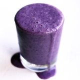 Recipe Vibrant Purple Blueberry Smoothie