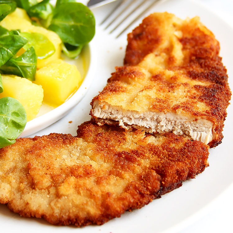 Authentic Viennese Pork Schnitzel