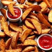 Perfect Crispy Baked Potato Wedges