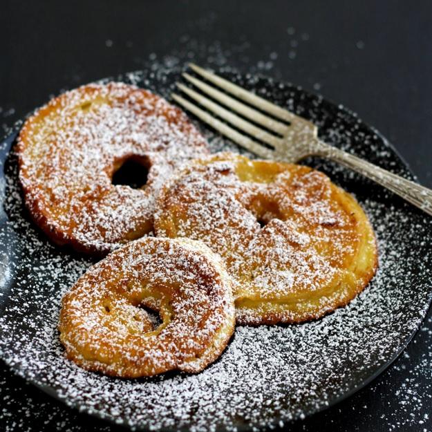 Gebackene Apfelringe – Apple Rings