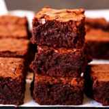 Recipe for Fudgy Chewy brownies