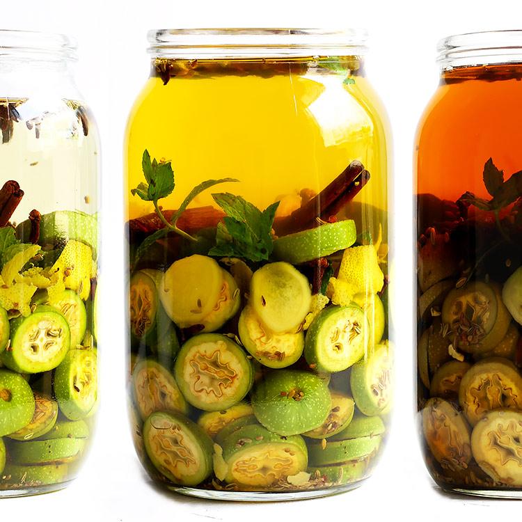 Spiced walnut liqueur from Austria
