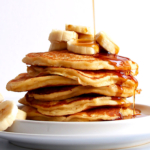 Fluffy Banana Pancakes (sugar-free)