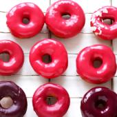 Pink Donuts (no food coloring)