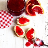 Recipe quick blood orange jam