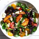 Recipe roasted Potato and Lentil Salad