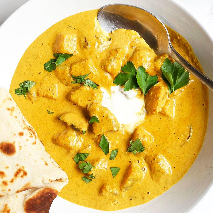 Vegan Potato Curry (creamy and mild)