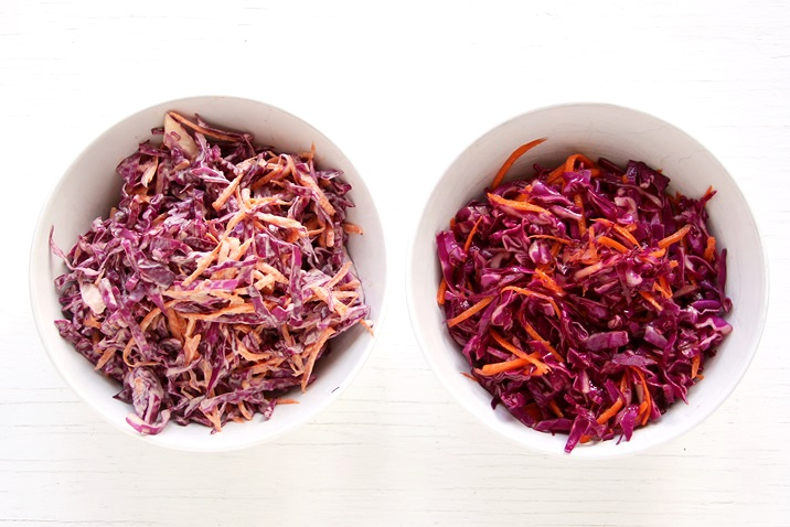 Red Cabbage Slaw dressing Recipe (perfect for Pulled pork sliders)