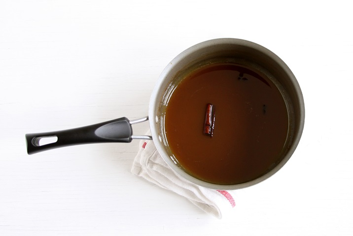 Reducing apple cider for caramels