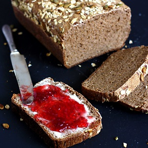 Li'l Vienna Rye Sourdough Bread Recipe