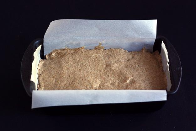 Rye Sourdough bread in loaf pan