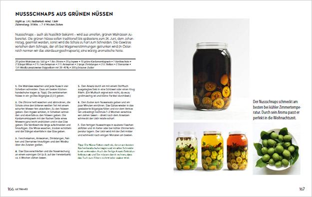 Screenshot walnut liqueur recipe cookbook