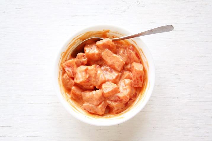 Spicy Mayo Marinade for Ahi Poke Recipe
