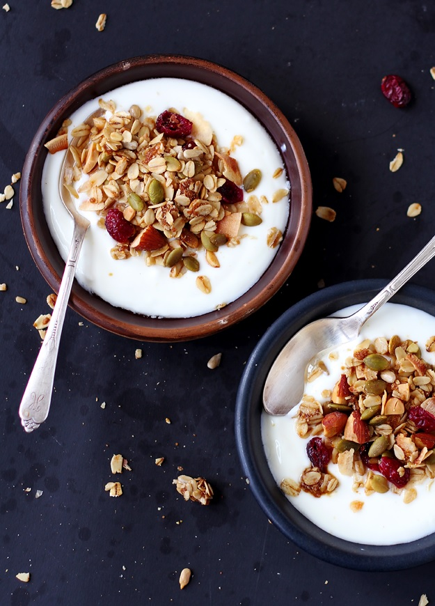 Sunflower and Pumpkin Seed Granola recipe