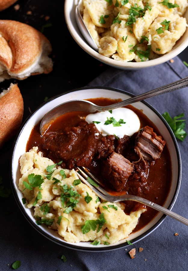 Authentic austrian beef goulash little vienna tender austrian shortrib goulash recipe forumfinder Gallery