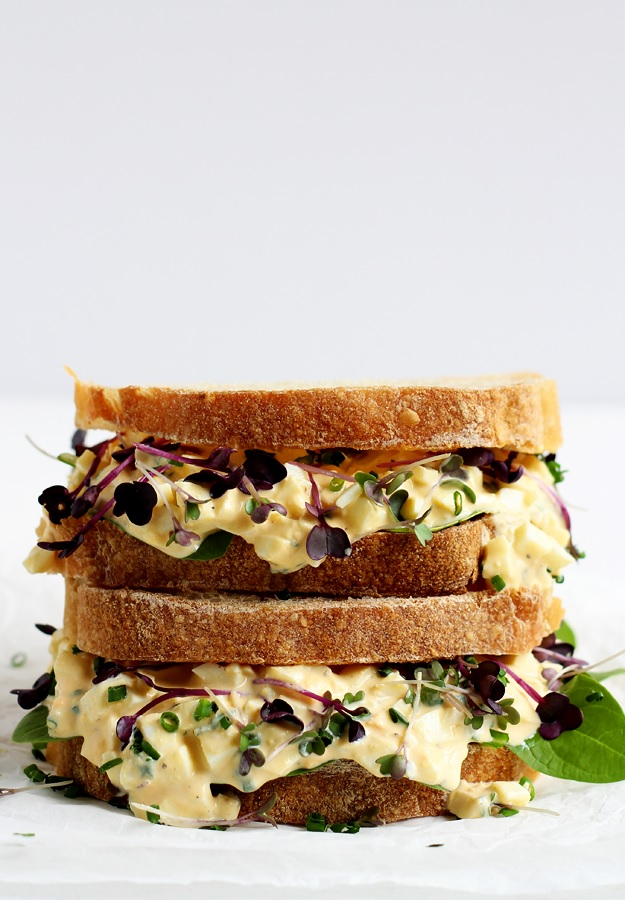 The Best Egg Salad Sandwich Recipe without mayo