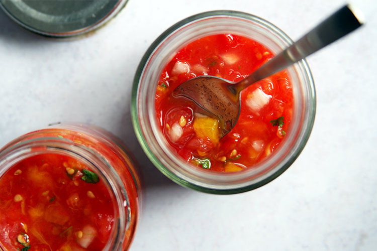 The best fermented red salsa recipe