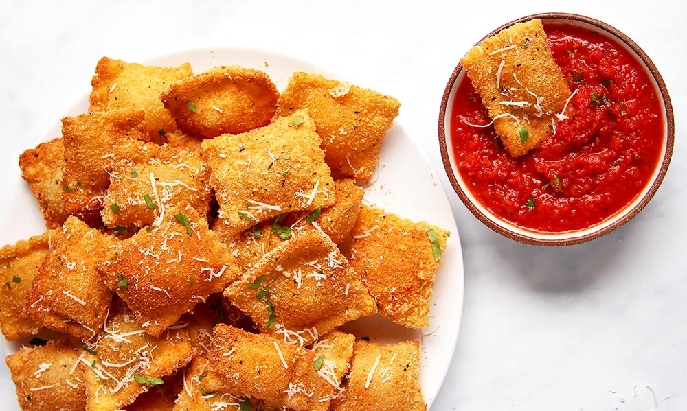 Toasted Ravioli recipe from scratch