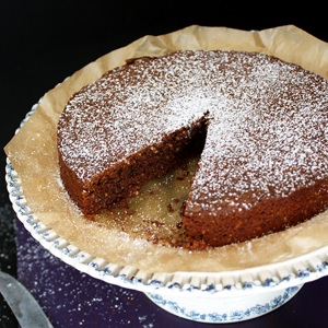 Torta Caprese – Flourless Chocolate Cake