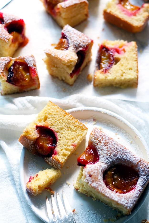 Traditional Austrian plum cake recipe