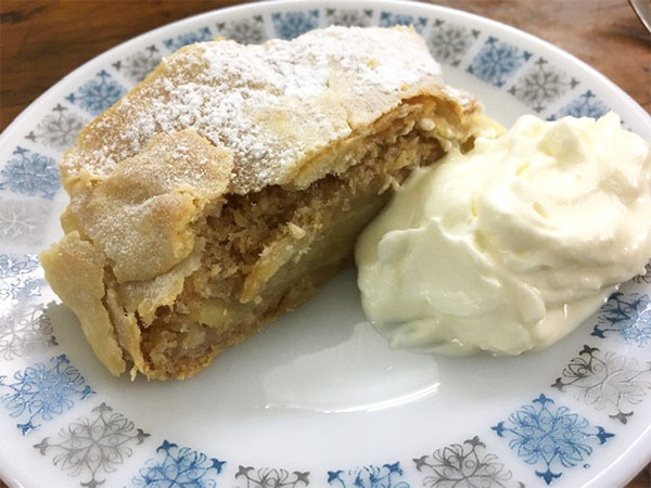 Viennese apple strudel recipe from lilvienna.com made by a User