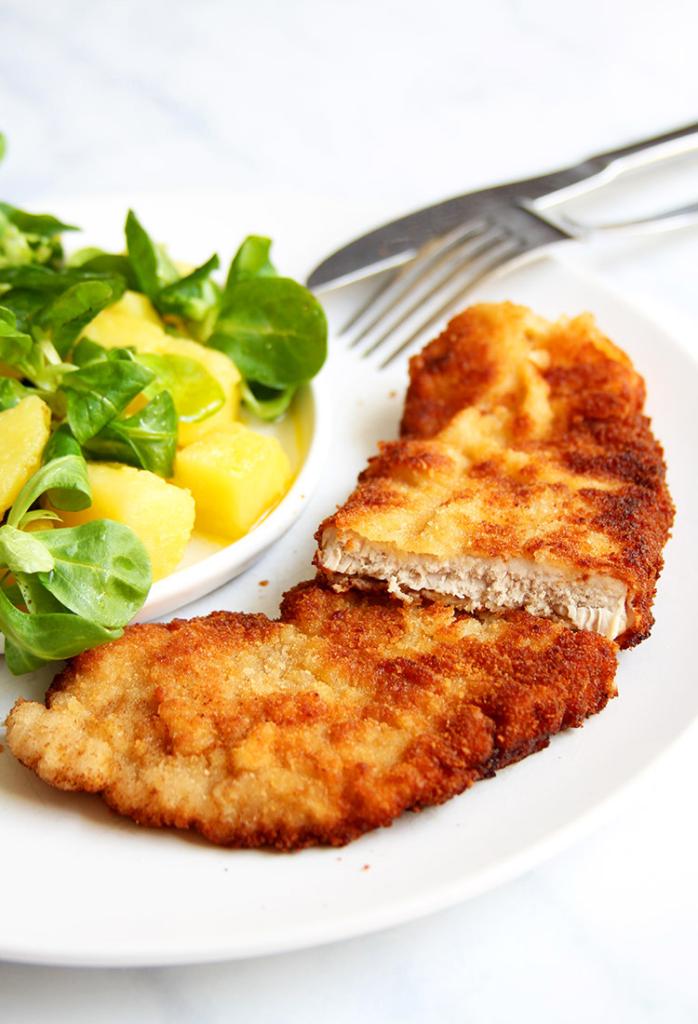 Viennese Pork Schnitzel recipe