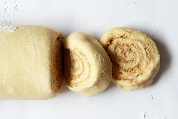 Walnut Cinnamon Buns with Sugar Icing Recipe