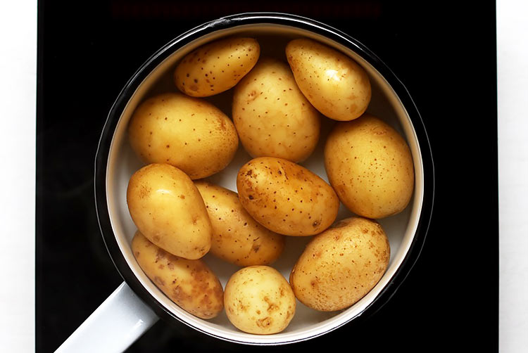 Which potatoes for smashed potatoes