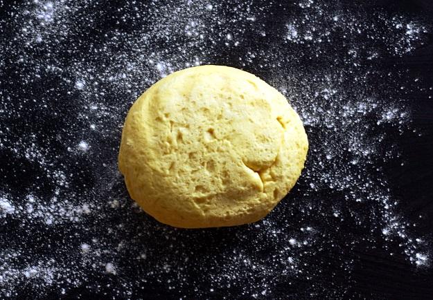 Yeast dough for Lussebullar Lussekatter